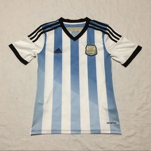 Adidas Climacool Boys Youth Messi Argentina Jersey